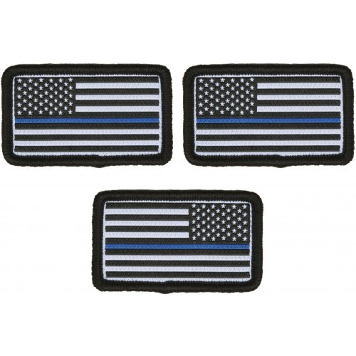 MINI FLAG PATCH 3er Pack