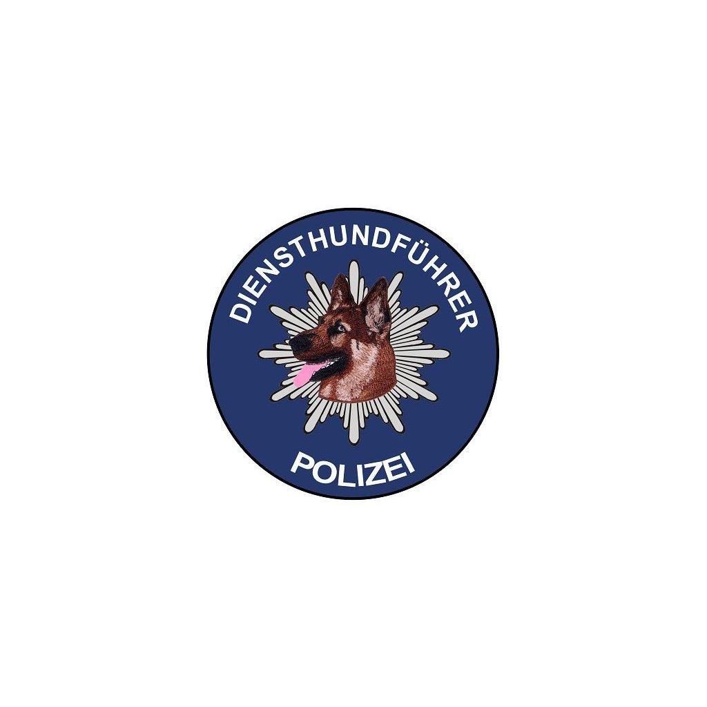 Aufkleber Diensthundführer Polizei Schäferhund Hinterglas