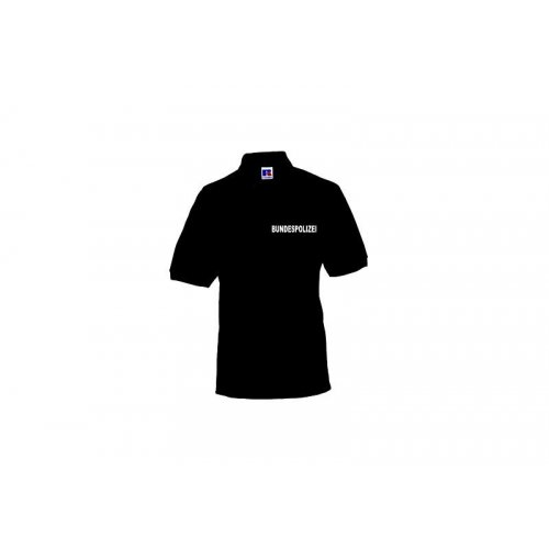 Polo-Shirt BUNDESPOLIZEI schwarz